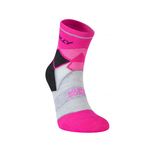 Hilly Ladies Photon Anklet Black/Fluo Pink