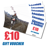 Adventure and Outdoors Gift Voucher £10