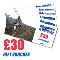 Adventure and Outdoors Gift Voucher £30
