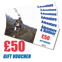 Adventure and Outdoors Gift Voucher £50