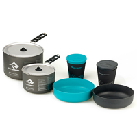Sea to Summit Alpha 2 Pot Set 2.2 Grey