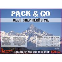 Pack N Go 600 Kcal Expedition Food Beef Shepherds Pie