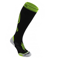 Bridgedale Compression Active Socks Black & Lime