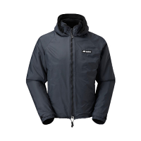 Buffalo Hooded Belay Jacket Black