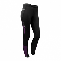 Raidlight Collant Wintertrail Ladies Black/Prune 47% OFF