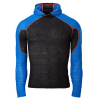 Core Hoodie Ultralight Air-Permeable Primaloft Insulation Black and Blue