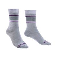 Bridgedale EVERYDAY Liner Merino Performance Ladies Grey/Purple