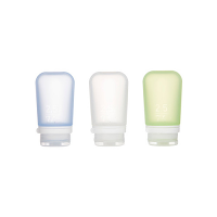 Human Gear GoToob 3 Pack Small 53ml Clear/Green/Blue