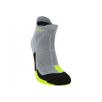 Hilly Cusion Socklet Grey/Fluo Yellow/Black