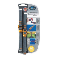 Sea to Summit Hook Release Accessory Strap Yellow 1 Metre 10 Millimetre Webbing