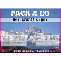 Pack n Go 600 Kcal Expedition Food Hot Cereal Start