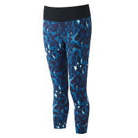 RonHill Ladies Momentum Crop Tight Web Print Surf
