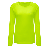 RonHill Aspiration Motion Long Sleeve Tee Fluo Yellow