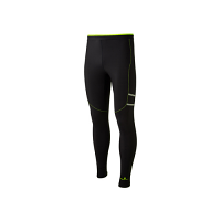 RonHill Mens Stride Winter Tight Black/Fluo Yellow AW 19