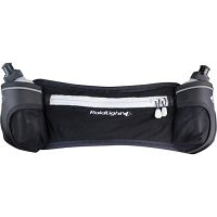Raidlight Mens Trail Marathon Belt Black Light Grey