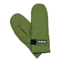 Buffalo Mittens Green
