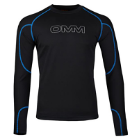 OMM Meridain Long Sleeve Tee Black Men's Midlayer