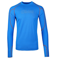 OMM Meridain Long Sleeved Tee Blue Men's Midlayer