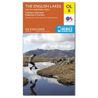 Ordnance Survey OL 6 English Lakes South West Area 1:25 000