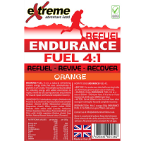 Extreme Adventure Food Endurance Fuel 4:1 Orange