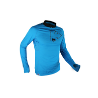 Raidlight Mens Performer XP Long Sleeve Top Electric Blue/Black