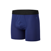 RonHill Mens 4.5 Boxer Mid Blue/Electric Blue