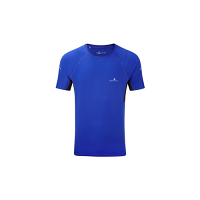 RonHill Mens Pursuit Short Sleeve Shirt Cobalt/Black