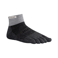 Injinji Trail Mid Weight mini crew Granite