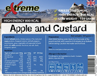Extreme Adventure Food Apple & Custard 500 Kcal